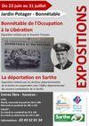 Expositions Bonnétable de l'Occupation à la Libération et la Déportation en Sarthe -