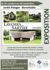 affiche expo lavoirs en Sarthe -